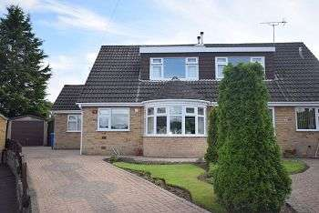 4 Bedrooms Semi Detached House for sale in Cotswold Close LITTLEOVER DE23 1FE