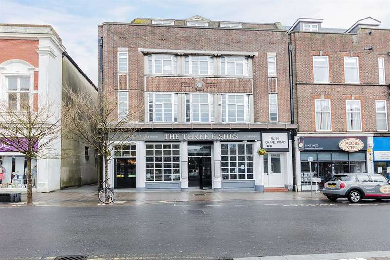 2 Bedrooms Apartment Flat for sale in Chapel Road, Worthing, West Sussex, BN11 1BE