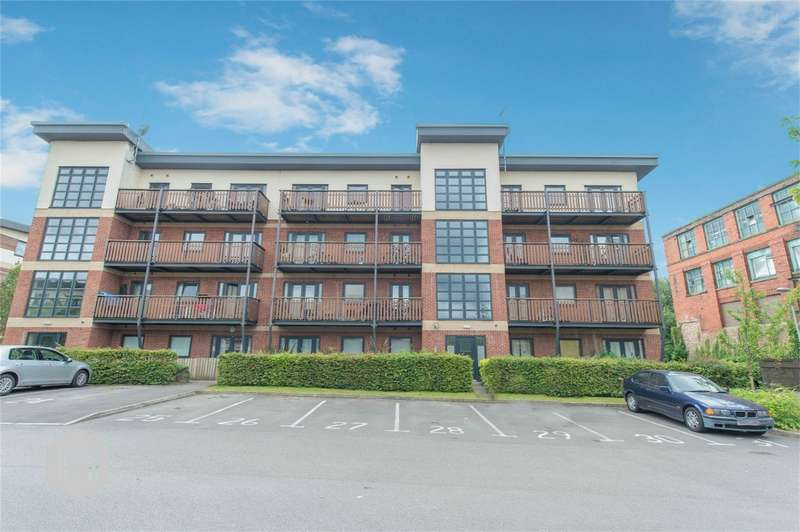 2 Bedrooms Flat for sale in Canalside, Radcliffe, Manchester, Lancashire