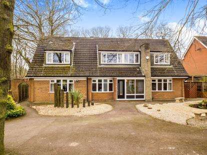 4 Bedrooms Detached House for sale in Eakring Road, Mansfield, Nottinghamshire