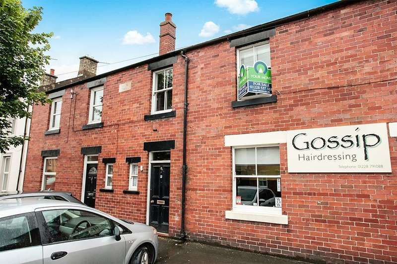 3 Bedrooms Flat for sale in Netherby Street, Longtown, Carlisle, CA6