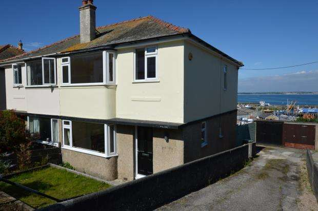 3 Bedrooms Semi Detached House for sale in Kenstella Road, Newlyn, Penzance, Cornwall