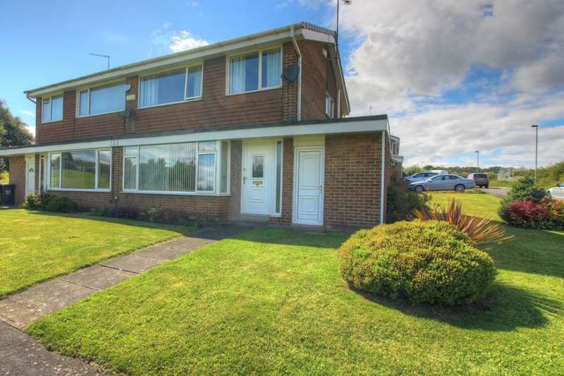 3 Bedrooms Semi Detached House for sale in Deneside, Sacriston, Durham, DH7