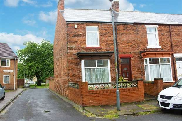 2 Bedrooms End Of Terrace House for sale in Alexandra Street, Shildon, Durham