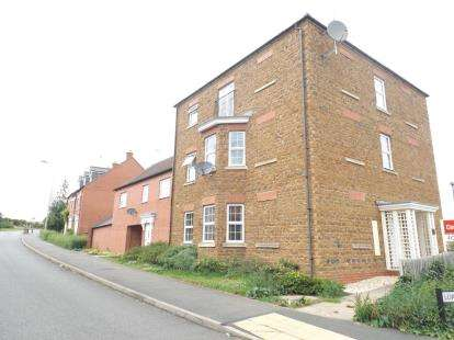 2 Bedrooms Flat for sale in Lord Fielding Close, Banbury, Oxfordshire