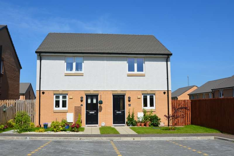 2 Bedrooms Semi Detached House for sale in Bolerno Gardens, Bishopton, PA7