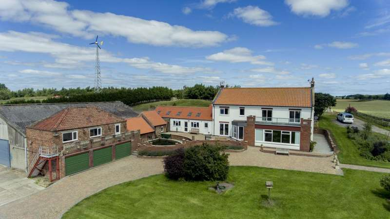 5 Bedrooms Detached House for sale in Howe Hill Farm, Newby, Stokesley, TS8 0AL