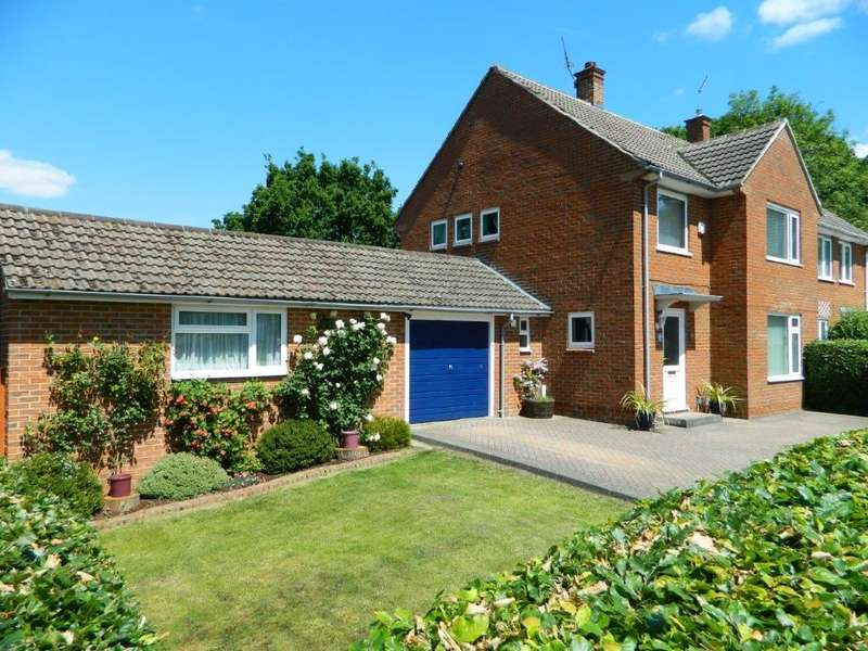 5 Bedrooms Semi Detached House for sale in Staverton Close, Bracknell, Berkshire RG42 2HH