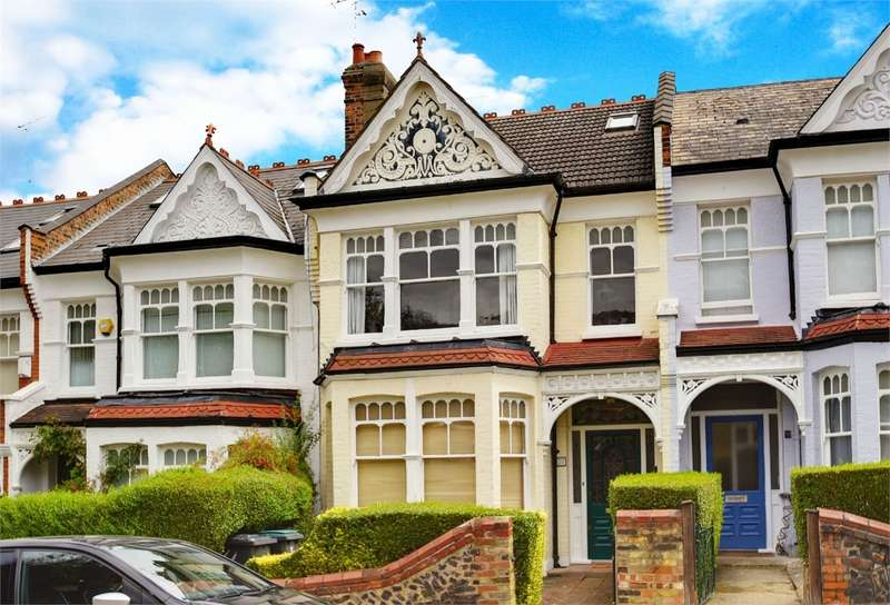 3 Bedrooms Flat for sale in Rosebery Road, Muswell Hill, London