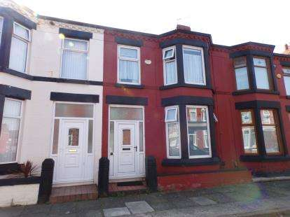 3 Bedrooms Terraced House for sale in Calthorpe Street, Garston, Liverpool, Merseyside, L19