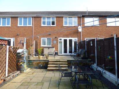 3 Bedrooms Terraced House for sale in Middlefield Place, Hinckley, Leicestershire