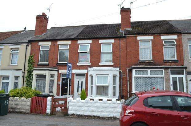 2 Bedrooms Terraced House for sale in Arbury Avenue, Foleshill, Coventry, West Midlands
