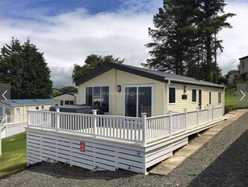 2 Bedrooms Lodge Character Property for sale in Borth, Wales