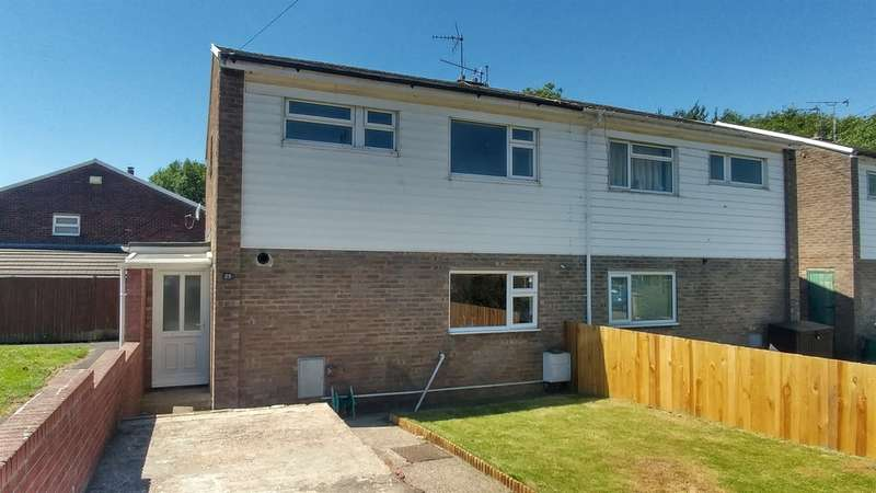 3 Bedrooms Semi Detached House for sale in Yr Hendre, Nantgarw, Cardiff