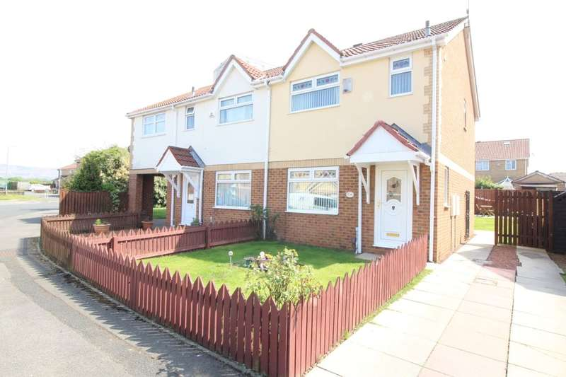 3 Bedrooms Semi Detached House for sale in Netherfields Crescent, Middlesbrough, TS3