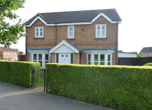 3 Bedrooms Detached House for sale in Knavesmire Avenue, Laughton Common, Sheffield