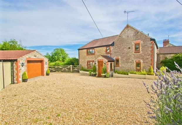 5 Bedrooms Detached House for sale in Prestleigh, Somerset