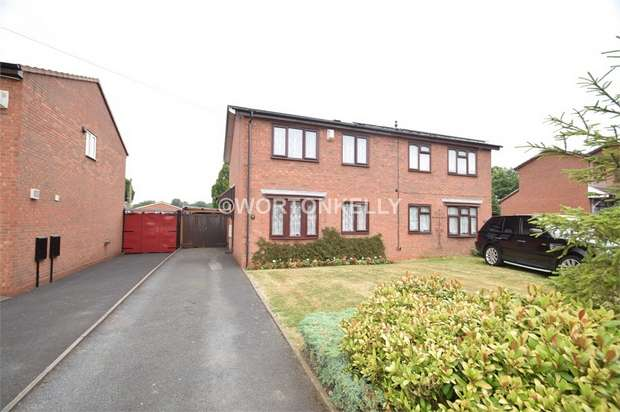 3 Bedrooms Semi Detached House for sale in Gladstone Street, WEST BROMWICH, West Midlands