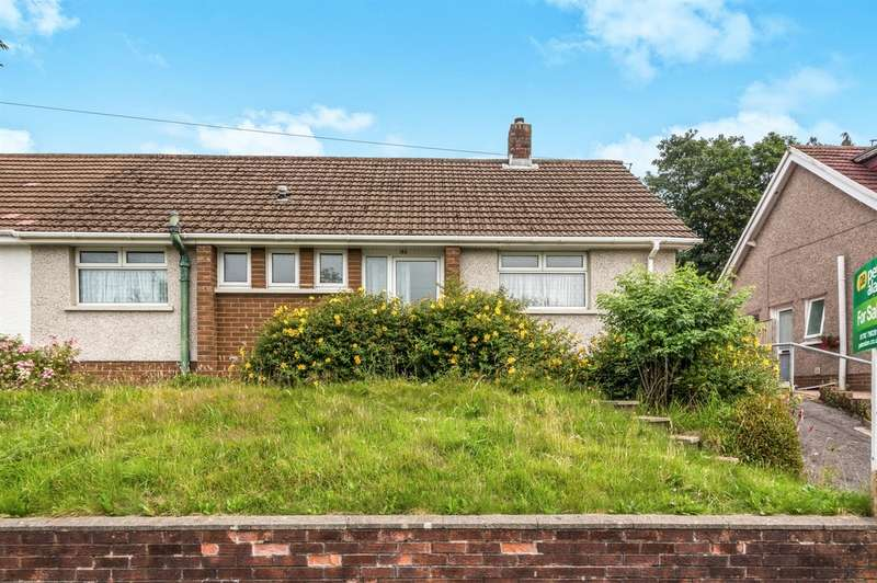2 Bedrooms Semi Detached House for sale in Trallwn Road, Llansamlet, Swansea