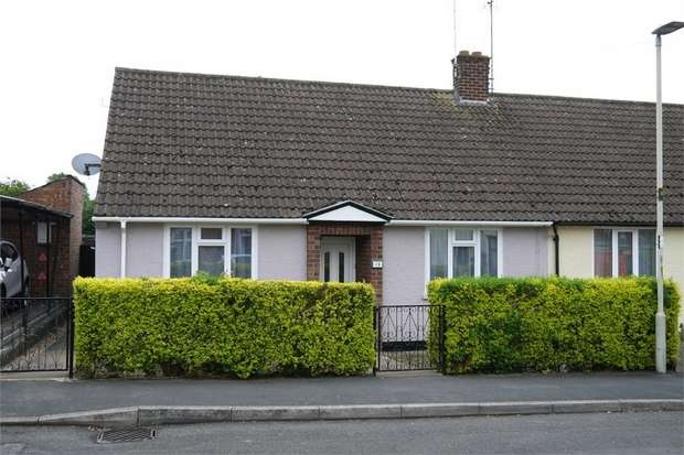 2 Bedrooms Semi Detached Bungalow for sale in Charles Street, Market Harborough, Leicestershire