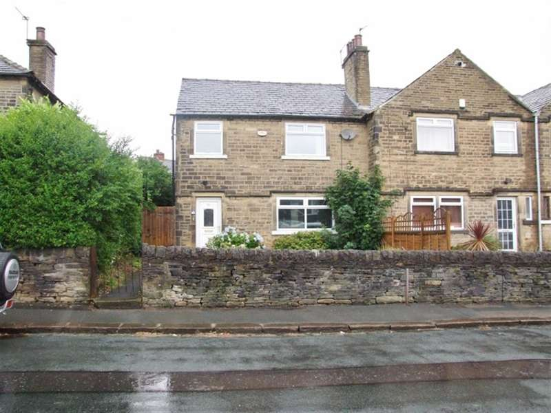 3 Bedrooms End Of Terrace House for sale in Beechwood Road, Holmfield, Halifax, HX2 9AR