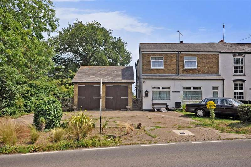 4 Bedrooms End Of Terrace House for sale in Herne Common, Herne Common, Kent