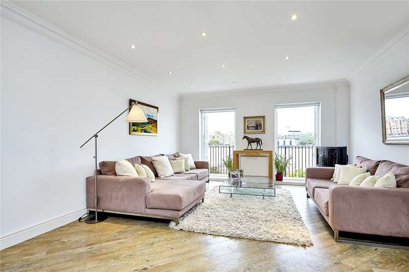 3 Bedrooms Flat for sale in National Terrace, National Terrace, Bermondsey Wall East, London, SE16