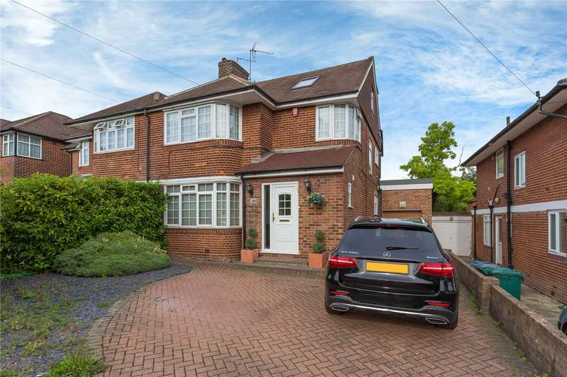 4 Bedrooms Semi Detached House for sale in Edgwarebury Lane, Edgware, Middlesex, HA8