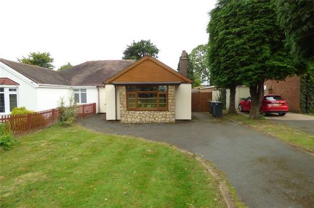 2 Bedrooms Semi Detached Bungalow for sale in Lutterworth Road, Nuneaton, Warwickshire