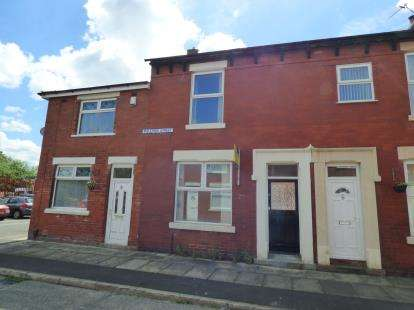 2 Bedrooms Terraced House for sale in Bulmer Street, Ashton-On-Ribble, Preston, Lancashire, PR2