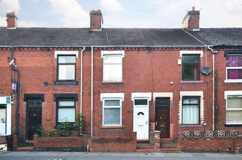 2 Bedrooms Terraced House for sale in ****NEW**** Furlong Road, Tunstall, ST6 5UD