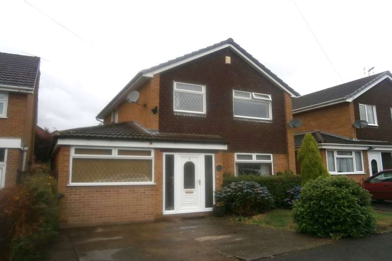 3 Bedrooms Detached House for sale in Attewell Close, Draycott, Derby, DE72