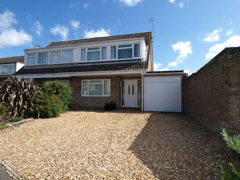 3 Bedrooms Semi Detached House for sale in Browning Close, Newport Pagnell, Buckinghamshire
