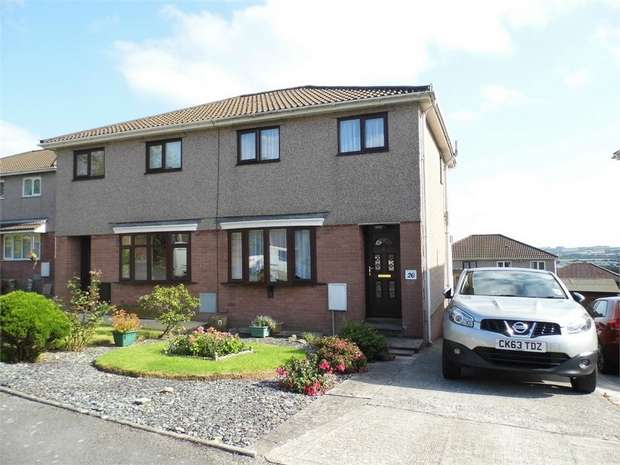 3 Bedrooms Semi Detached House for sale in The Hollies, Brackla, Bridgend, Mid Glamorgan