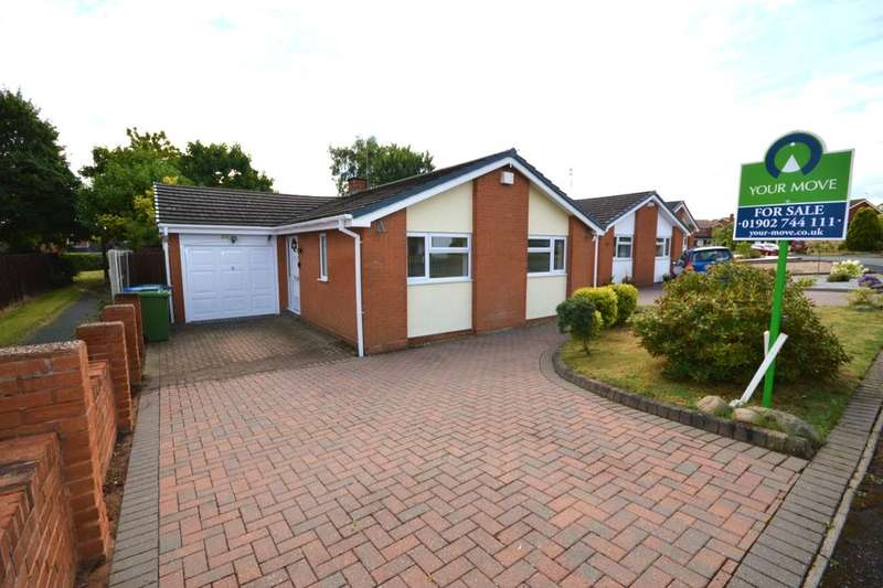 2 Bedrooms Detached Bungalow for sale in Edge Hill Drive, Perton, Wolverhampton, WV6
