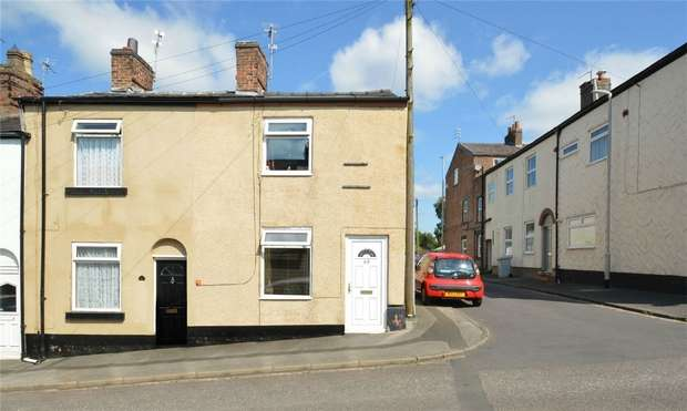 2 Bedrooms End Of Terrace House for sale in Lansdowne Street, Macclesfield, Cheshire
