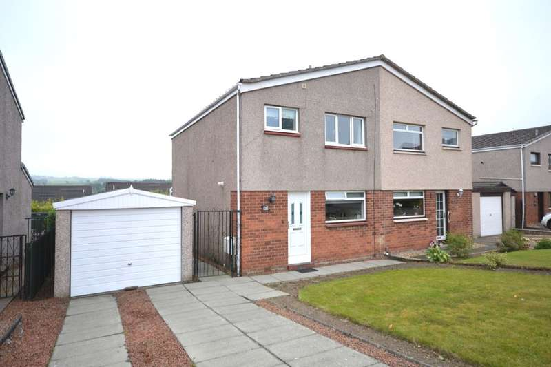 3 Bedrooms Semi Detached House for sale in Glenview Drive, Falkirk, FK1
