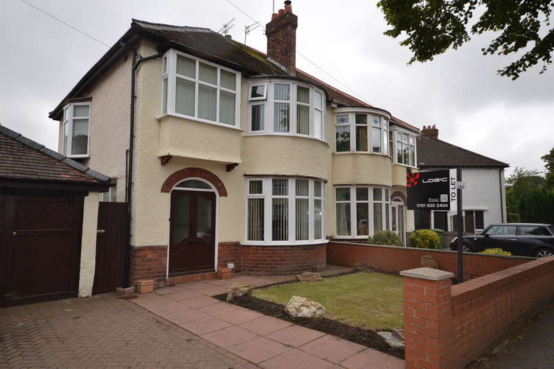 3 Bedrooms Semi Detached House for rent in The Northern Road, Crosby, Liverpool, L23
