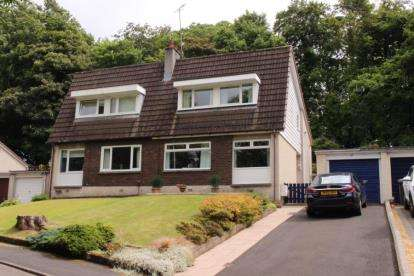 3 Bedrooms Semi Detached House for sale in Linnpark Gardens, Johnstone