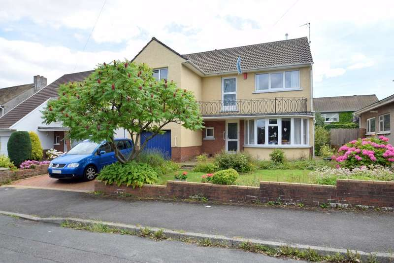 4 Bedrooms Detached House for sale in 17 Bryntirion Hill, Bridgend, Bridgend County Borough, CF3 4BY.