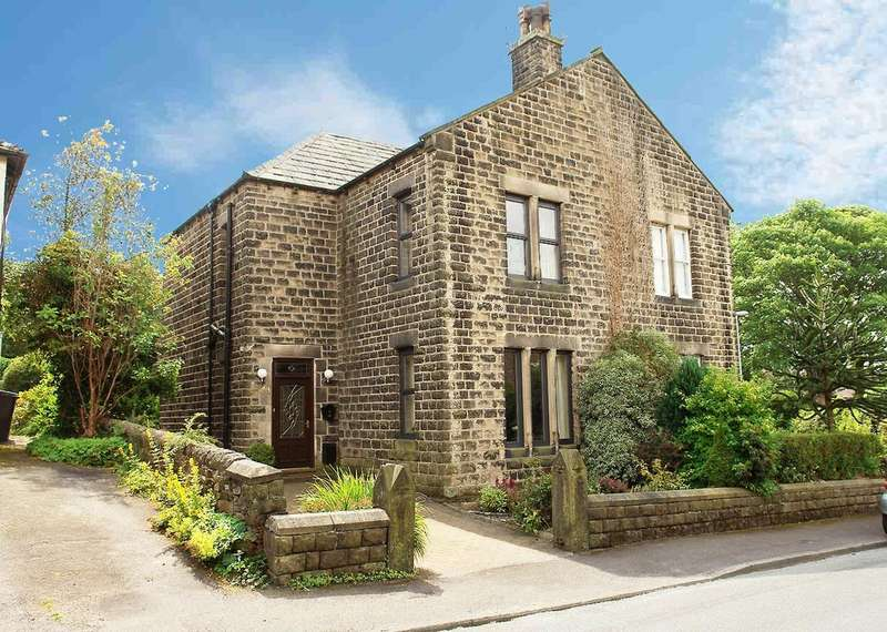 4 Bedrooms Semi Detached House for sale in Church Road, Uppermill, Saddleworth