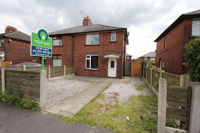3 Bedrooms Semi Detached House for sale in Exeter Avenue, Tonge Moor, Bolton, BL2