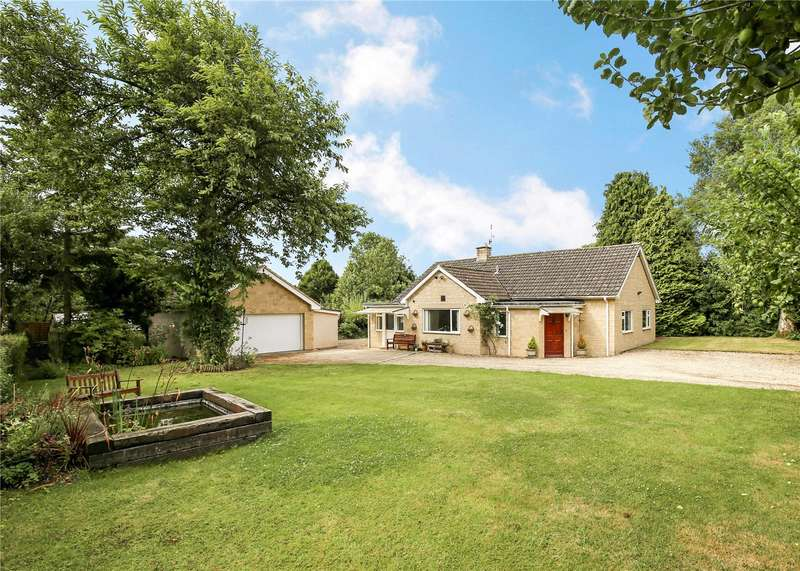 4 Bedrooms Detached Bungalow for sale in Old Vicarage Lane, Kemble, Cirencester, Gloucestershire, GL7