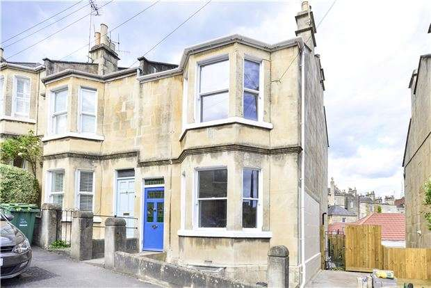 3 Bedrooms End Of Terrace House for sale in Brunswick Street, BATH, Somerset, BA1 6PQ