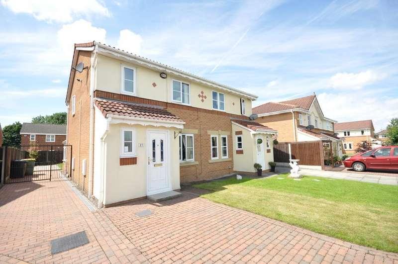 3 Bedrooms Semi Detached House for sale in Rose Lea, Fulwood, Preston, Lancashire, PR2 9LB