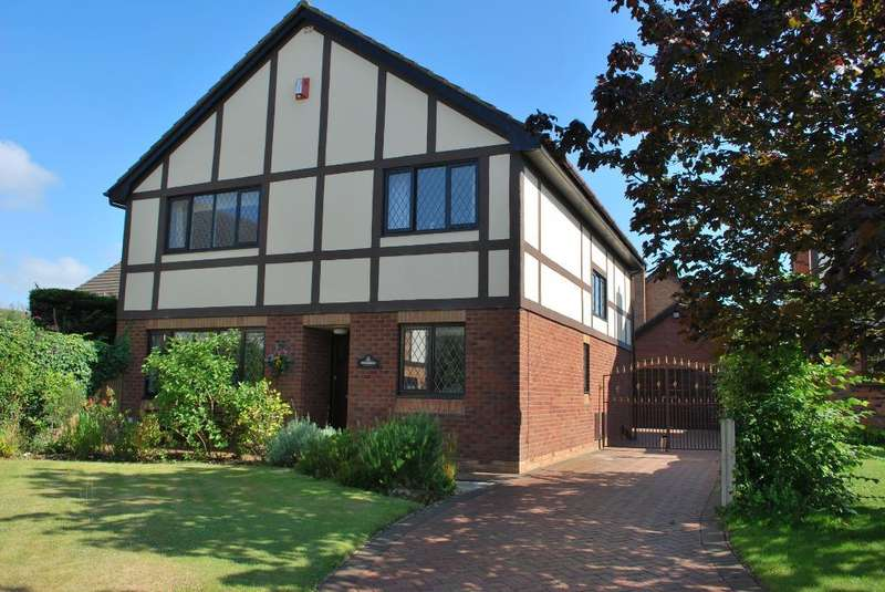 4 Bedrooms Detached House for sale in The Cloisters, Blackpool, Lancashire, FY3 8LW