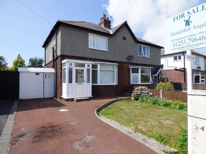 3 Bedrooms Semi Detached House for sale in Rutland Road, Ansdell, Lytham St Annes.
