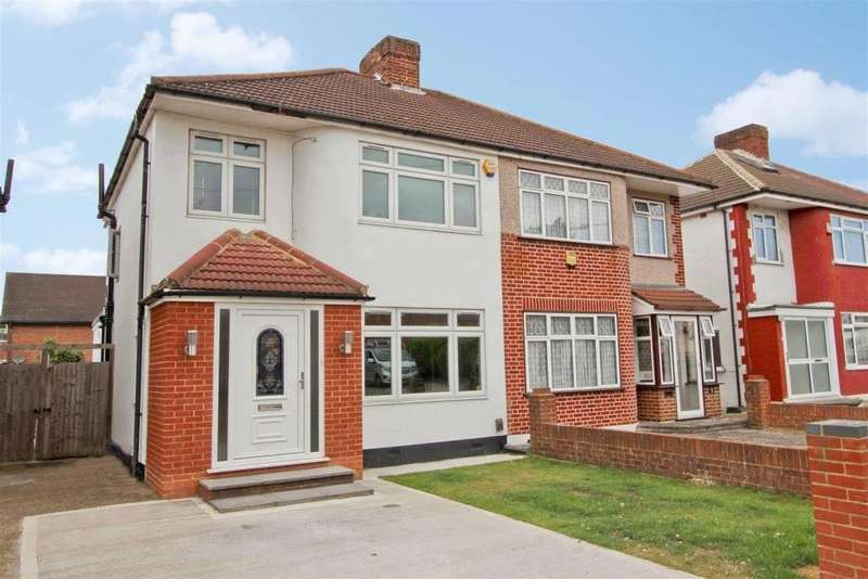 3 Bedrooms Semi Detached House for sale in Long Drive, Ruislip