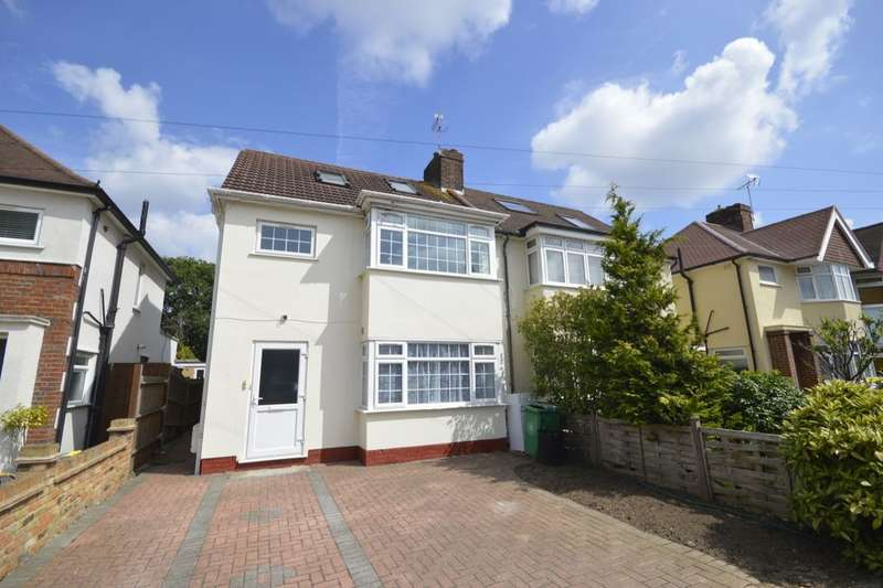 4 Bedrooms Semi Detached House for sale in Whitton Waye, Whitton, Hounslow, TW3