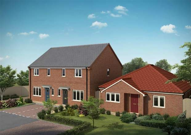 2 Bedrooms Semi Detached House for sale in Jasmine Way, Bilton, Rugby, Warks